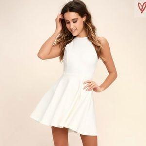 Lulus White Skater Dress